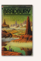 Photo: The Martian Chronicles Book Cover