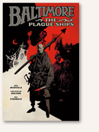 Cover: Baltimore: The Plague Ships