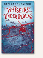 Book cover: Whispers Under Ground