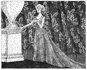 Edward Gorey Picture of Charlotte