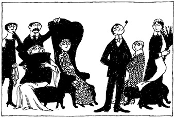 Edward Gorey Picture of the Party