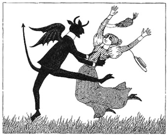 Edward Gorey's Picture of Charlie