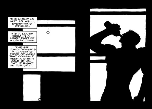 First Panel: Sin City