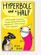 Book Cover: Hyperbole and a Half