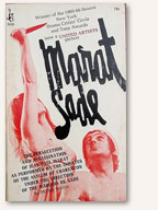 Book Cover: Marat/Sade